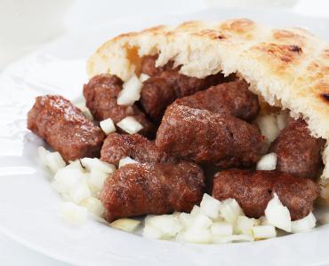 Balkanjärpar - Ćevapčići
